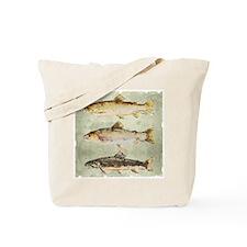 Trout Watercolor Artist Dave Teffeteller Tote Bag