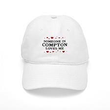 Loves Me in Compton Baseball Cap