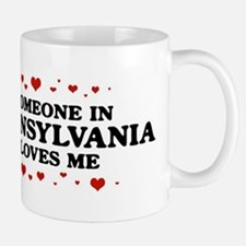 Loves Me in Pennsylvania Small Small Mug