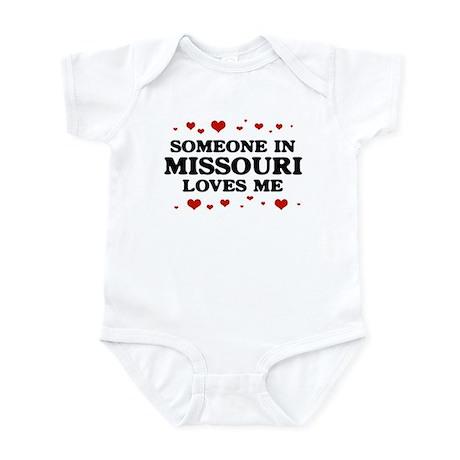 Loves Me in Missouri Infant Bodysuit