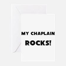 MY Chaplain ROCKS! Greeting Cards (Pk of 10)