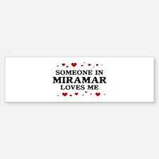 Loves Me in Miramar Bumper Bumper Bumper Sticker