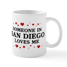 Loves Me in San Diego Mug