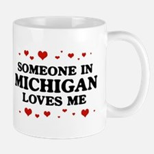 Loves Me in Michigan Mug