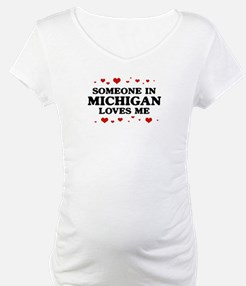 Loves Me in Michigan Shirt