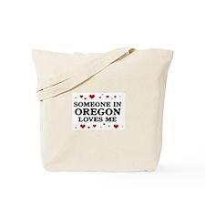 Loves Me in Oregon Tote Bag