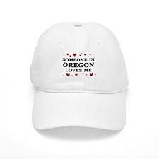 Loves Me in Oregon Baseball Cap
