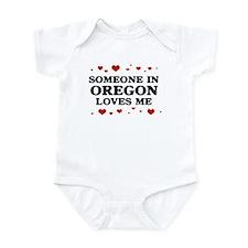 Loves Me in Oregon Infant Bodysuit