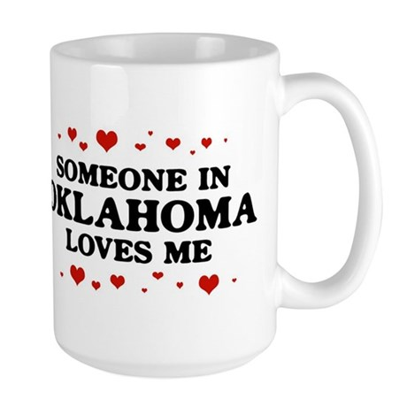 Loves Me in Oklahoma Large Mug