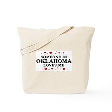 Loves Me in Oklahoma Tote Bag