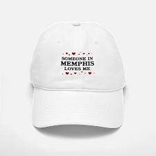 Loves Me in Memphis Baseball Baseball Cap