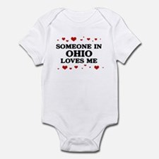 Loves Me in Ohio Infant Bodysuit