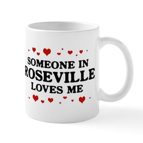 Loves Me in Roseville Mug