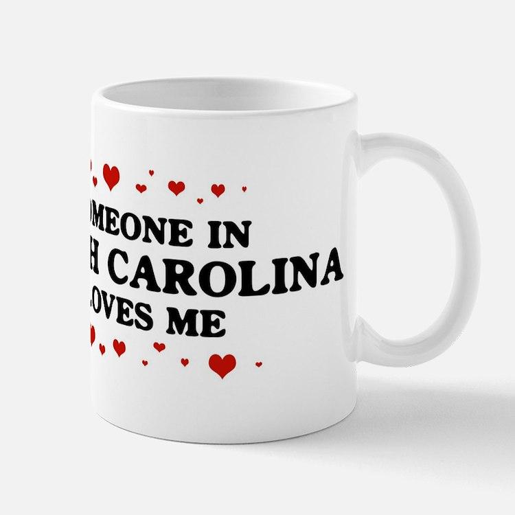Loves Me in North Carolina Mug
