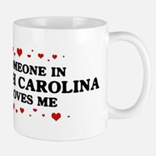 Loves Me in North Carolina Small Small Mug
