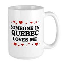 Loves Me in Quebec Mug