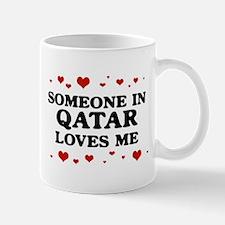 Loves Me in Qatar Mug