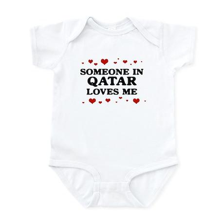 Loves Me in Qatar Infant Bodysuit
