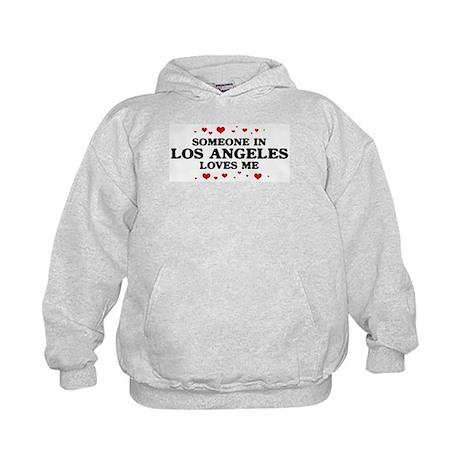 Loves Me in Los Angeles Kids Hoodie