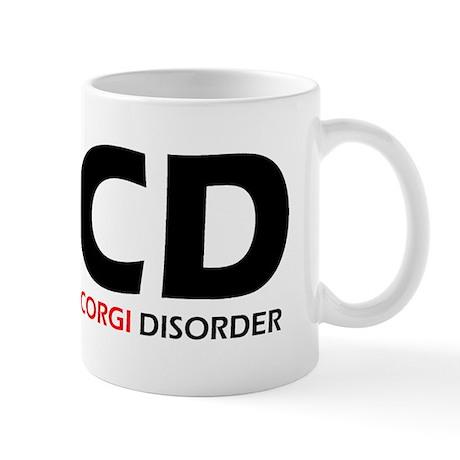 Obsessive Corgi Disorder Mug