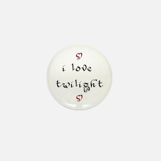 i love twilight Mini Button