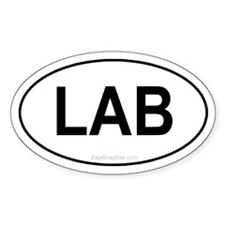 Lab Euro Decal