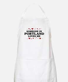 Loves Me in Portland BBQ Apron
