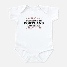 Loves Me in Portland Onesie