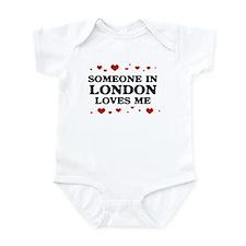 Loves Me in London Infant Bodysuit