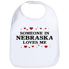 Loves Me in Nebraska Bib
