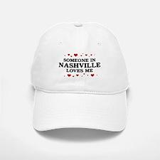 Loves Me in Nashville Baseball Baseball Cap