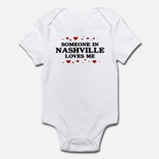 Loves Me in Nashville Infant Bodysuit