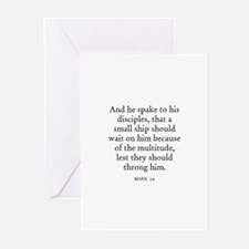 MARK  3:9 Greeting Cards (Pk of 10)