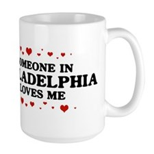 Loves Me in Philadelphia Mug