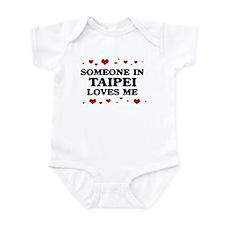 Loves Me in Taipei Infant Bodysuit