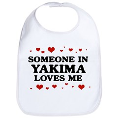 Loves Me in Yakima Bib