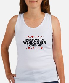 Loves Me in Wisconsin Women's Tank Top