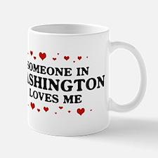 Loves Me in Washington Mug