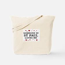 Loves Me in St Paul Tote Bag