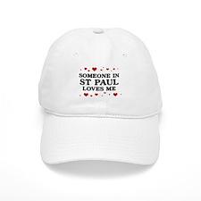 Loves Me in St Paul Baseball Baseball Cap