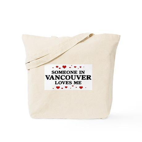 Loves Me in Vancouver Tote Bag