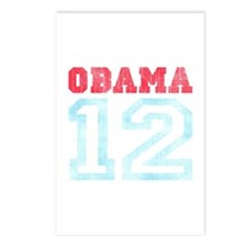 OBAMA 12 Postcards (Package of 8)