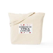 Loves Me in Utica Tote Bag