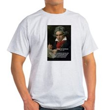 Classical Music: Beethoven Ash Grey T-Shirt