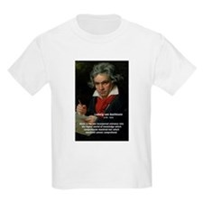 Classical Music: Beethoven Kids T-Shirt