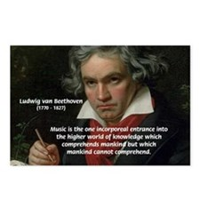 Classical Music: Beethoven Postcards (Package of 8