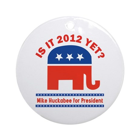 Is it 2012 yet? Ornament (Round)