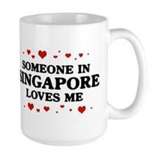 Loves Me in Singapore Mug