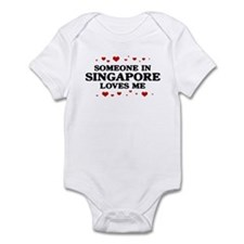 Loves Me in Singapore Infant Bodysuit