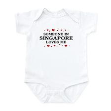 Loves Me in Singapore Onesie